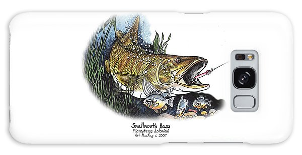 Smallmouth Bass Galaxy Case