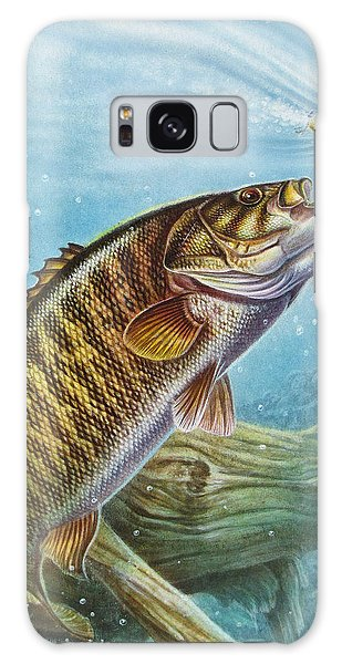 Smallmouth Bass Galaxy S8 Case - Smallmouth Bass by JQ Licensing