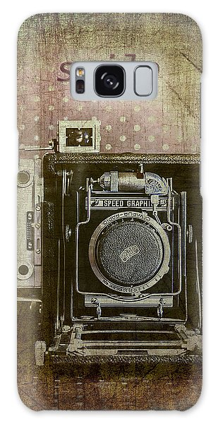 Smile For The Camera Galaxy Case by Karen Stephenson
