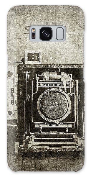 Smile For The Camera - Sepia Galaxy Case by Karen Stephenson