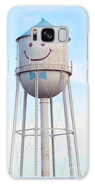 Smiley The Water Tower Galaxy Case