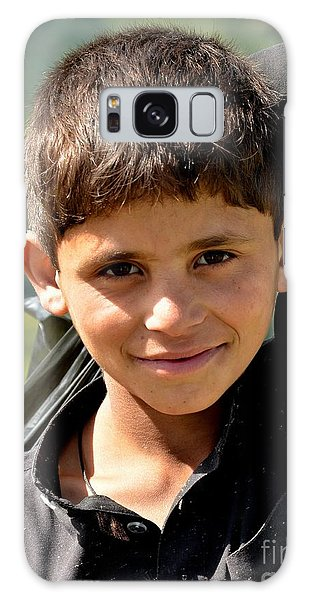 Smiling Boy In The Swat Valley - Pakistan Galaxy Case