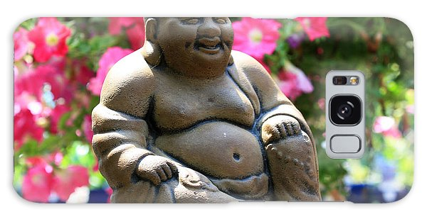 Smiling Buddha Galaxy Case by Gerry Bates