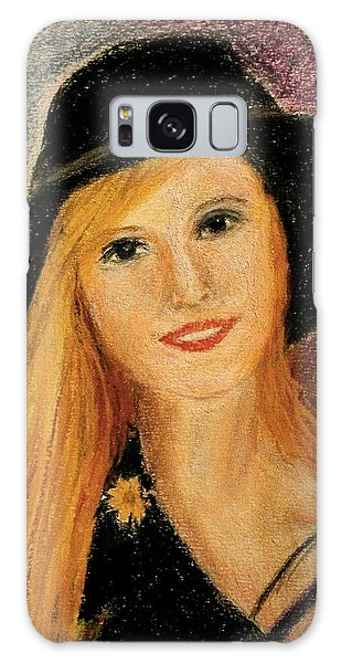 Smiling Young Lady  Galaxy Case