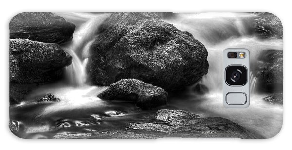 Smith Creek In Black And White Galaxy Case