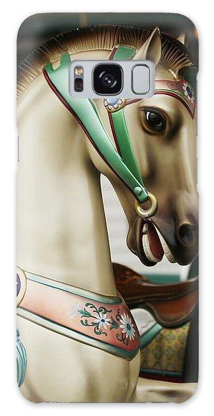 Smithville Carousel Horse I Galaxy Case