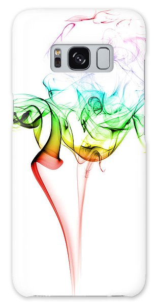 Colour Galaxy Case - Smoke And Colours by Samuel Whitton