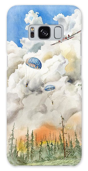 Smoke Jumpers Galaxy Case