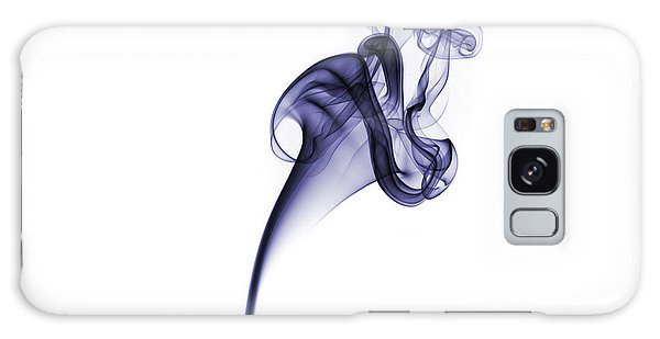 Galaxy Case featuring the photograph Smoke Pattern by David Barker