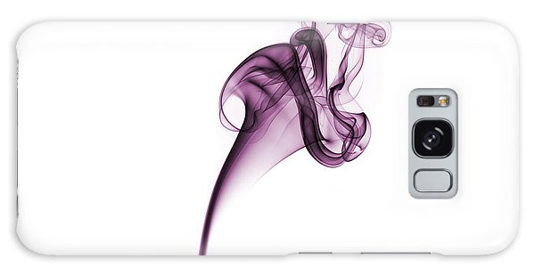 Galaxy Case featuring the photograph Smoke Swirl by David Barker