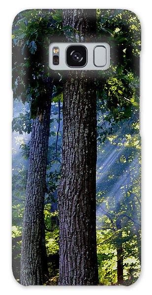 Smoke Through The Trees Galaxy Case by Carlee Ojeda