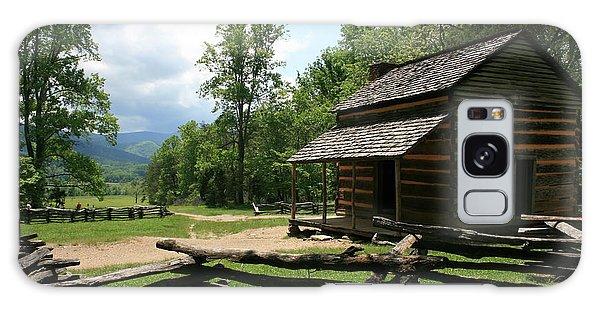 Smoky Mountain Cabin Galaxy Case