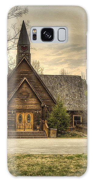 Smokey Mountain Love Chapel 2 Galaxy Case