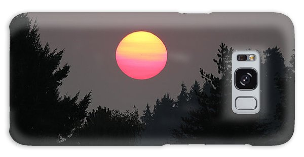 Smokey Sunrise Galaxy Case by E Faithe Lester