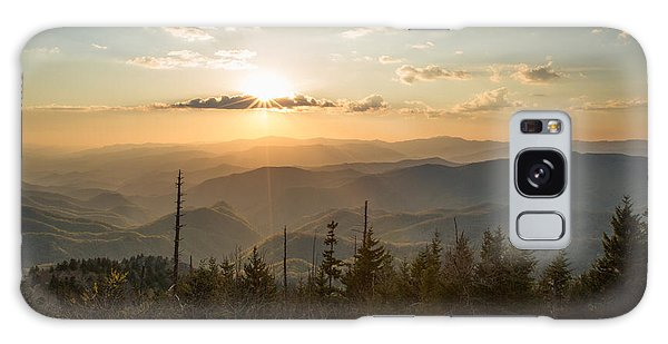 Smokies In Spring Galaxy Case by Doug McPherson