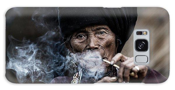 Turban Galaxy Case - Smoking 2 by Amnon Eichelberg