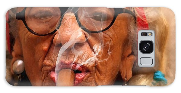 Smoking - Caribbean Serie Galaxy Case