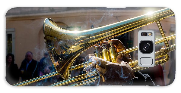Smoking Hot Trombone Galaxy Case