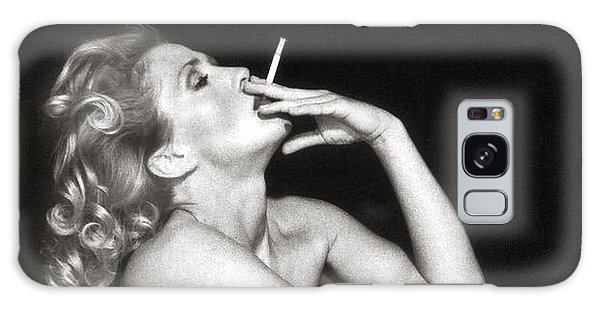 Smoking Nude  Galaxy Case