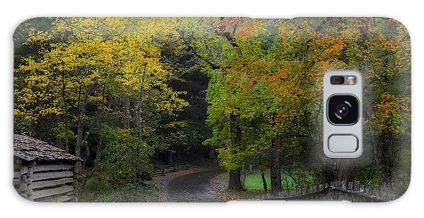 Smoky Mountain Autumn Around The Tipton Place Galaxy Case