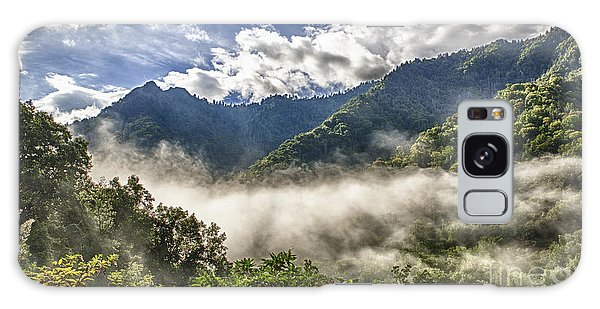 Smoky Mountain Chimney Tops Galaxy Case