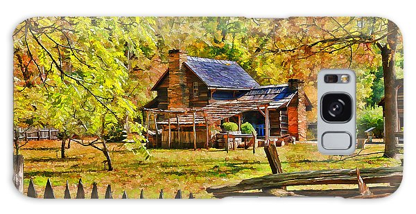 Smoky Mountain Homestead Galaxy Case by Kenny Francis