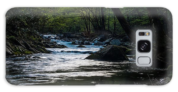 Smoky Mountain Stream Galaxy Case by Jay Stockhaus