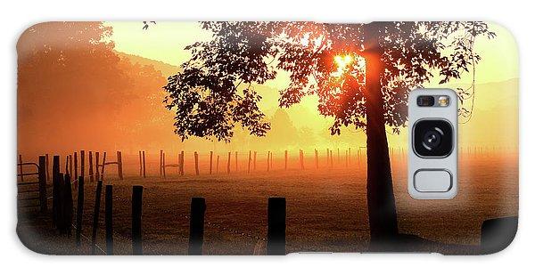 Smoky Mountain Sunrise Galaxy Case