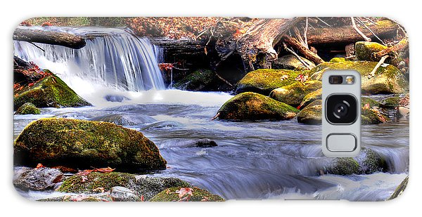 Smoky Mountain Waterfall Galaxy Case by Craig T Burgwardt