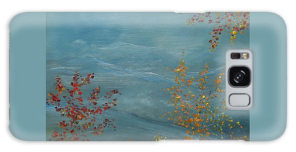 Smoky Mountains In Autumn Galaxy Case