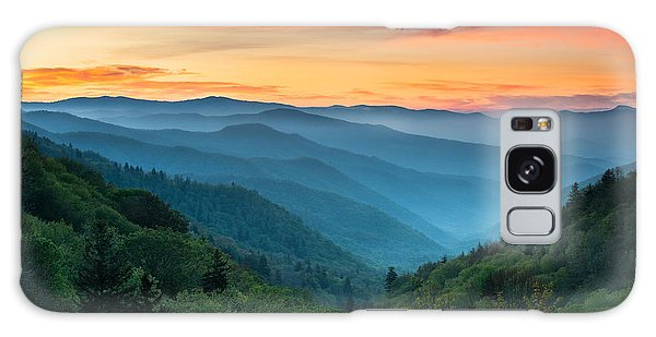 Sunset Galaxy Case - Smoky Mountains Sunrise - Great Smoky Mountains National Park by Dave Allen