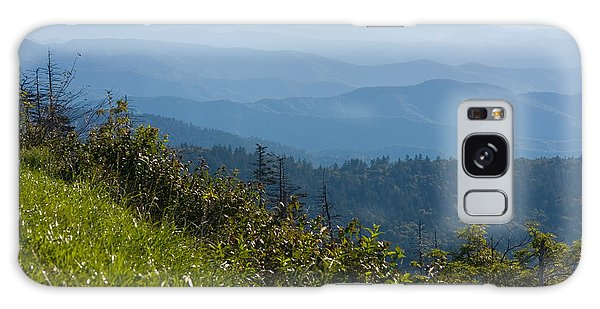 Smoky Mountains View Galaxy Case by Melinda Fawver
