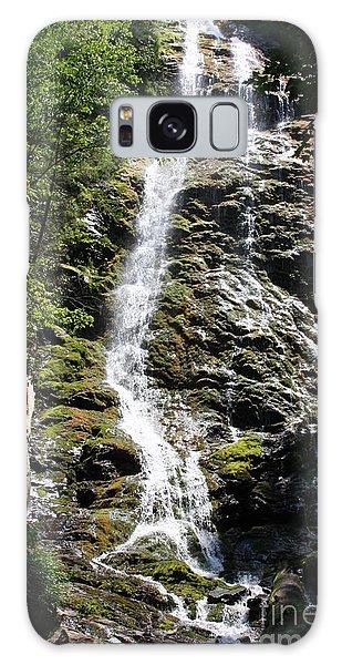 Smoky Mountains Waterfall Galaxy Case