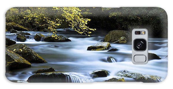 National Park Galaxy Case - Smoky Stream by Chad Dutson