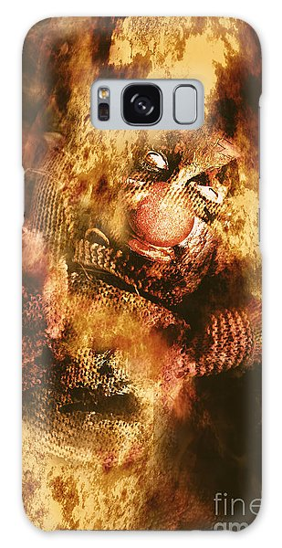Voodoo Galaxy Case - Smoky The Voodoo Clown Doll  by Jorgo Photography - Wall Art Gallery