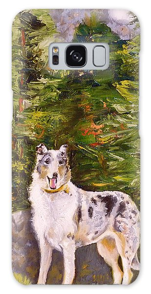 Smooth Collie Hiker Galaxy Case