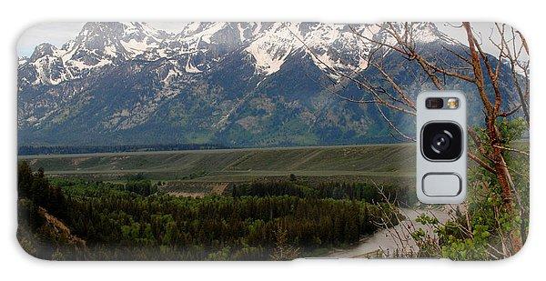 Snake River Framed Galaxy Case by Robert  Moss