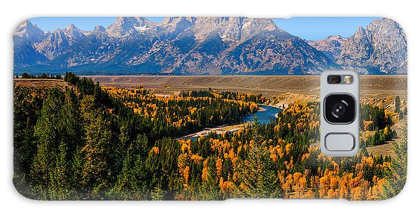 Snake River Overlook Galaxy Case