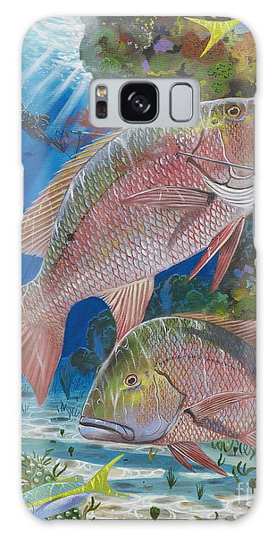 Mangrove Snapper Galaxy Case - Snapper Spear by Carey Chen