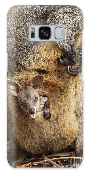 Sneezing Wallaby Galaxy Case