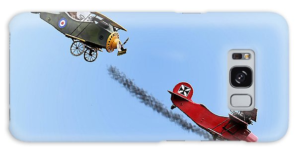 Snoopy And The Red Baron Galaxy Case