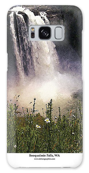 Snoqualmie Falls Wa. Galaxy Case