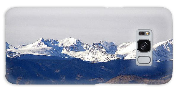 Snow Covered Indian Peaks Galaxy Case
