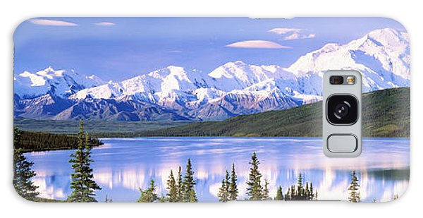 Denali Galaxy Case - Snow Covered Mountains, Mountain Range by Panoramic Images