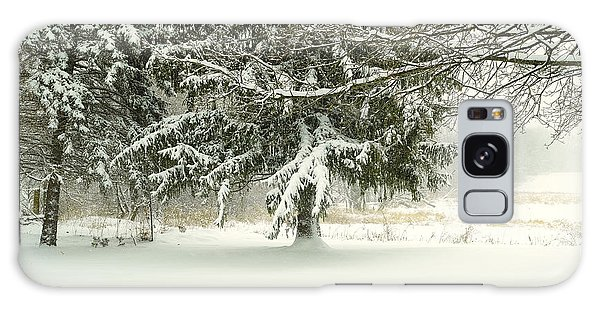 Snow-covered Trees Galaxy Case
