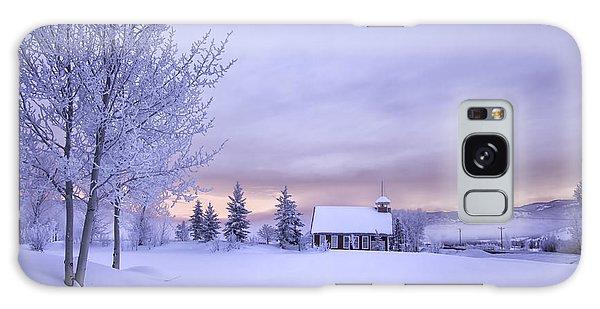 Snow Day Galaxy Case by Kristal Kraft