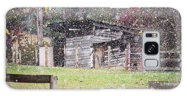 Snow Day Galaxy Case by Tammy Schneider
