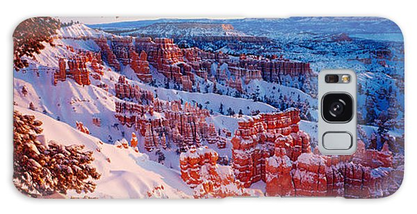 Snow In Bryce Canyon National Park Galaxy Case