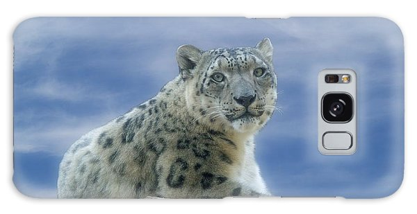 Snow Leopard Galaxy Case