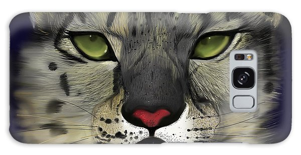 Snow Leopard - The Eyes Have It Galaxy Case